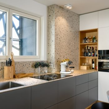 Moderna sodobna kuhinja